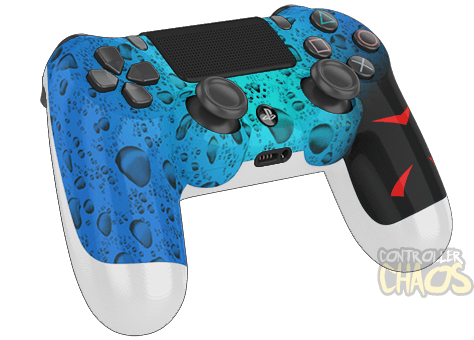 Custom Controllers - Playstation 4 - Rapid Fire - H20 ... H20 Delirious Controller