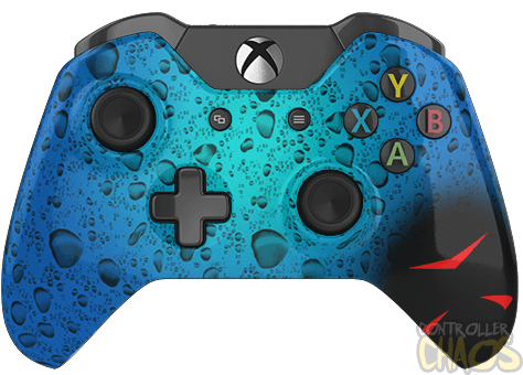 Custom Controllers - Xbox One - Rapid Fire - H20 Delirious ... H20 Delirious Controller