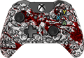 Zombies Blood Splatter
